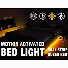 motion activated led light strip motion activated bed light emotionlite led motion sensor bedside