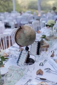 deco theme voyage une décoration de mariage autour du voyage pretty wedding