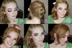 5 easy hairstyles for medium length hair youtube