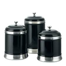 kitchen canister sets black black and white kitchen canisters 4 white kitchen canister set