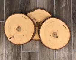 wood centerpiece etsy