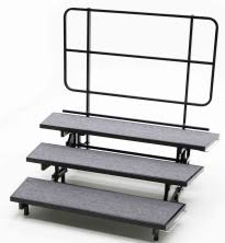 Choir Stands Benches Choral Risers And Platforms