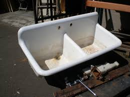 kitchen sinks apron and utility circular grey fireclay backsplash