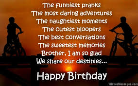 birthday wishes for brother quotes and messages u2013 wishesmessages com