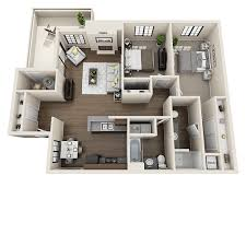 Spacious 3 Bedroom House Plans 1 2 U0026 3 Bedroom Apartments In Tucson Az Starrview At Starr Pass