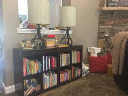 Bookcase Lamps Makeovermonday Boring Rooms To Go Lamps Turned Vintage Chic
