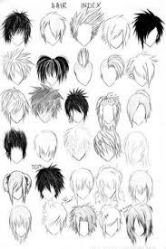 draw realistic hair drawing hairstyles drawings and anime