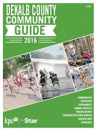 dekalb county community guide 2016 by kpc media group issuu