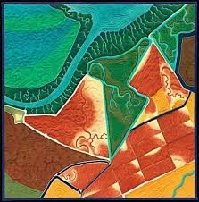 san francisco map quilt aerial views of the bay area on a quilt the bold italic san