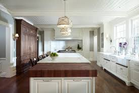 Kitchen Island Counters Mixed Island Countertops Transitional Kitchen Yunker Associates
