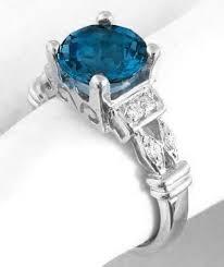 london blue topaz engagement ring london blue topaz ring in 14k white gold gr 6039