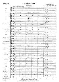 Flower Duet - flower duet by leo delibes arr brubaker j w pepper sheet music