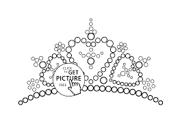 tiara with diamond coloring page for girls printable free