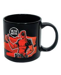 marvel deadpool thumbs up mug 20oz
