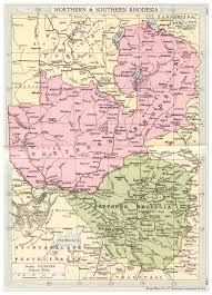 Map Of Zambia Whkmla History Of Zambia