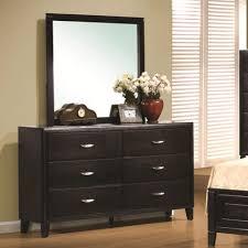dressers 40 stirring black 6 drawer dresser with mirror picture