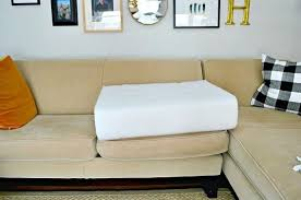 quick and easy fix for sagging sofa cushions hometalk