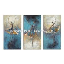 abstract artists famous dancer canvas paintings bedroom