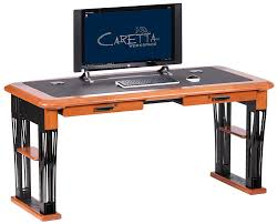 modern urban computer desk full caretta workspace