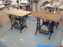 sewing machine table ideas old sewing machine ideas bought a few old treadle sewing machine