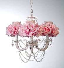 Chandeliers For Girls Top Pink Chandelier For Girls Room Roselawnlutheran Throughout