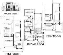 modern floor plan modern townhouse designs and floor plans home deco plans