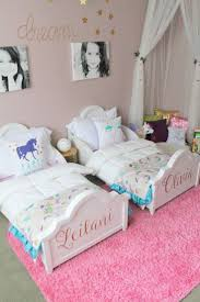top 25 best girls room paint ideas on pinterest girl room double the big kid beds double the fun this dreamy toddler room inspiration