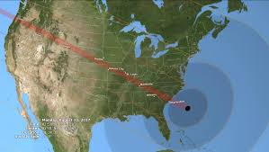 Show Me A Map Of Where I Am See Nasa U0027s Detailed Map Of The 2017 Total Solar Eclipse Time Com