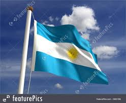 Argentina Flag Photo Argentina Flag With Clipping Path Illustration