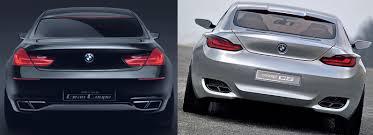bmw cs concept photo comparison bmw gran coupe vs bmw cs concept