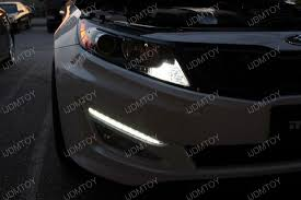2013 kia optima led fog light bulb kia optima led daytime running ls and led turn signals ijdmtoy