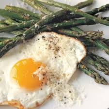 Fried Parmesan Roasted Asparagus With Fried Eggs And Parmesan Williams Sonoma
