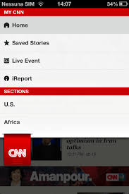 cnn app for android android create a menu cnn ios app style stack overflow