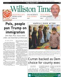 williston times 02032017 by the island now issuu