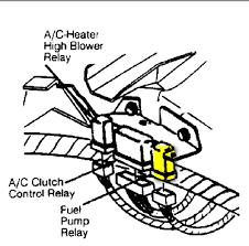 suzuki samurai fuel pump relay wiring diagram wiring diagram
