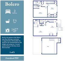 Upstairs Floor Plans by Floor Plans Bellaria Townhomes