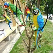 parrot home decor fake artificial parrot bird realistic home decor parakeet