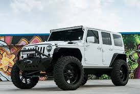 Black And Jeep Fuel Hostage Wheels Matte Black Rims