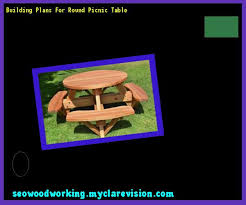 round picnic table plans free 150328 woodworking plans and