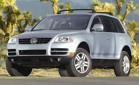 volkswagen touareg white 2004 volkswagen touareg first drive review reviews car and