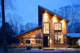 shed style architecture pigeon creek residence