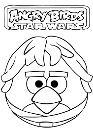 angry birds star wars coloring pages cartoon coloring pages