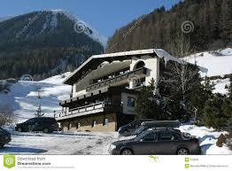 ischgl austria hotel antony stock photo image 512656