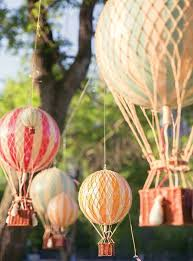 hot air balloon decorations 19 hot air balloon party ideas spaceships and laser beams