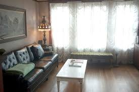 Shabby Chic Curtains For Sale by Sumptuous Tufted Couch In Living Room Shabby Chic With Long Sofa