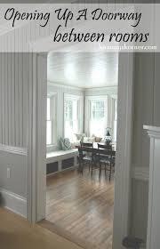 Laminate Flooring Doorways Kammy U0027s Korner A Daring Doorway Cut In The Wall Opening Up Your