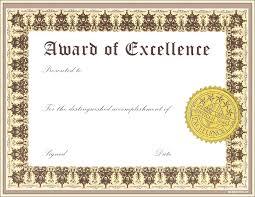 blank award certificate templates word sample invitations word masir