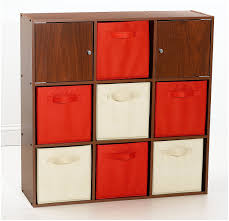 amazon com closetmaid 8646 9 cube organizer cherry finish home