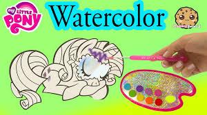 my little pony paintfolio watercolor mlp water color paint art