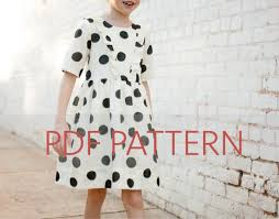 pattern dress pdf marlow dress pdf girl dress pattern girl patterns dress